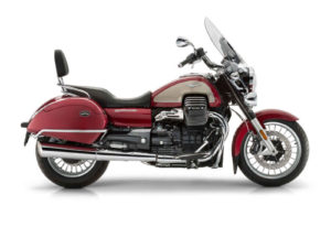 2017 Moto Guzzi California Touring-Red-$18,490