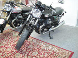 2017 Moto Guzzi V7 III Special-Black & Green-$8490