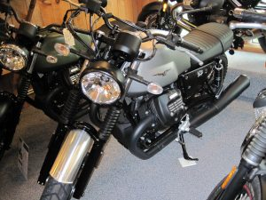 2018 Moto Guzzi V7 Rough- $9190