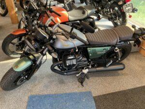 2021 Moto Guzzi V9 Bobber Centenario-$10690
