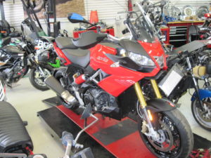 New 2015 Aprilia Caponord w/Side Cases- $11,000